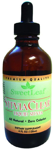 Dietary Supplement - Sweetleaf Stevia Extract - Clear Liquid 4 OZ