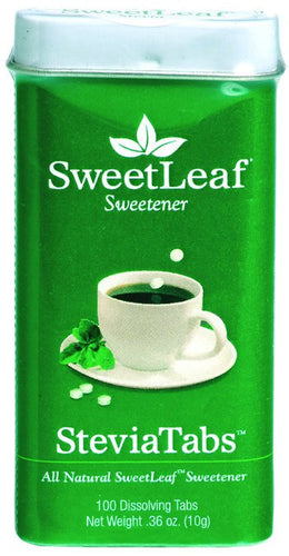 Dietary Supplement - Sweetleaf Stevia Extract Tablets 100 TAB