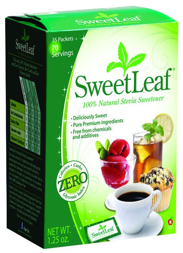Dietary Supplement - Sweetleaf Stevia Packets With Fiber 35 PKTS