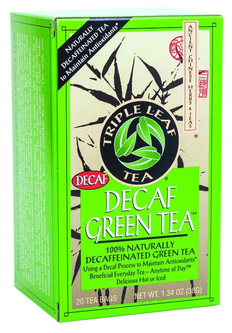 Dietary Supplement - Triple Leaf Tea Decaf Green Tea 20 BAG