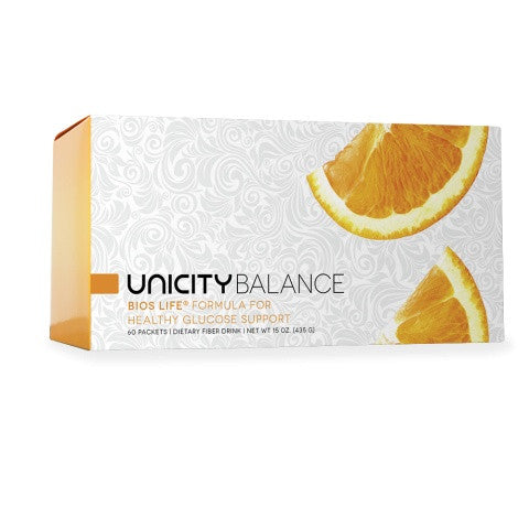 Dietary Supplement - Unicity Balance For Glucose Support (Replaces Bios Life Slim G) 60 Packets