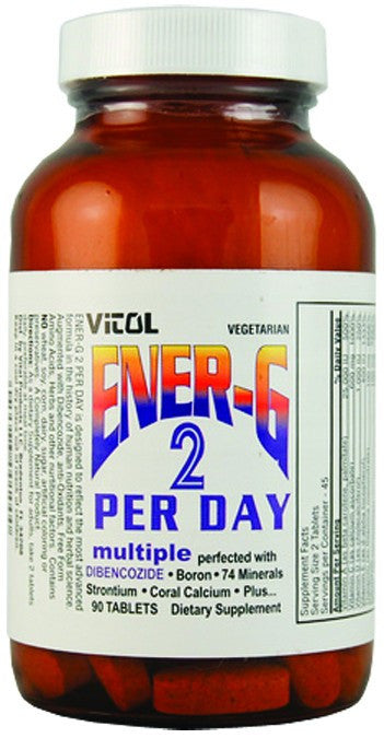 Dietary Supplement - Vitol Ener-G 2 Per Day Multiple 90 TAB