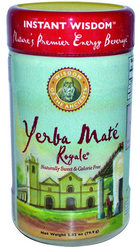 Dietary Supplement - Wisdom Natural Instant YerbaMate Royale Tea 2.82oz