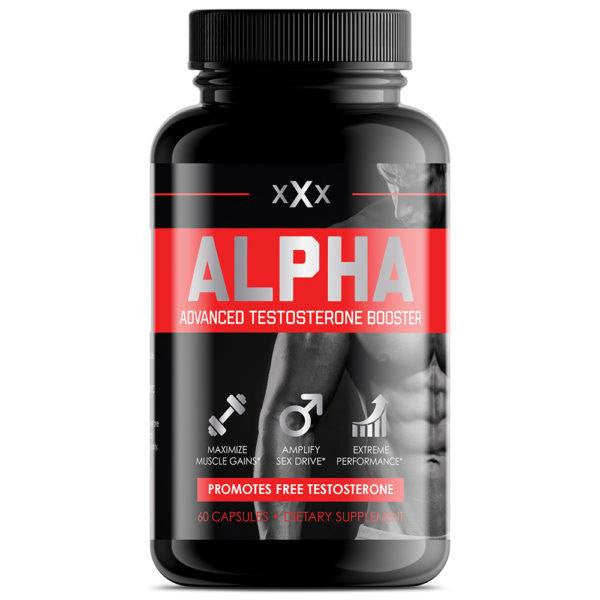 Dietary Supplement - XXx Alpha Muscle Advanced Testosterone Booster