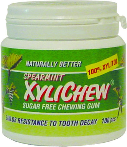 Dietary Supplement - Xylichew Spearmint Gum Jar 60 PC