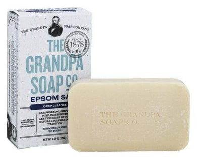 Grandpa's Epsom Salt Soap With Baking Soda -  4.25 OZ