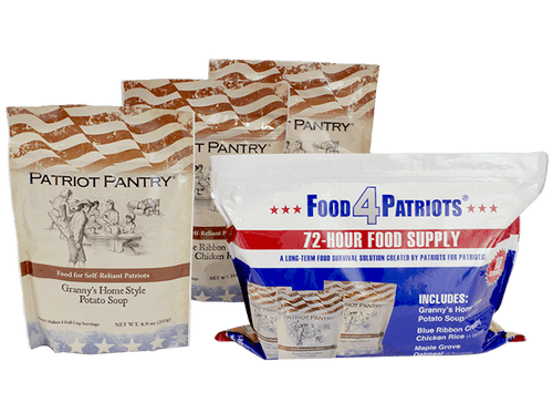Food 4 Patriots 72 Hour Kit