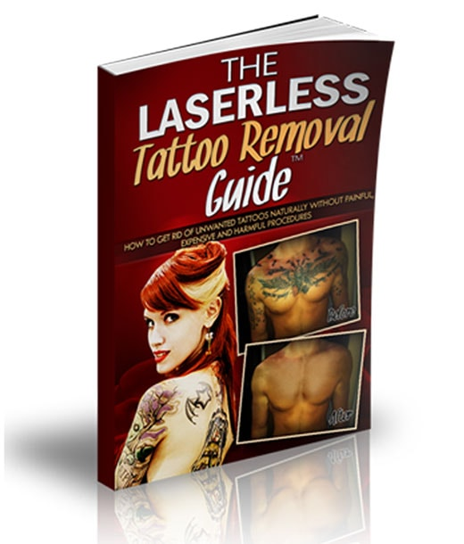 The Laserless Tattoo Removal Guide