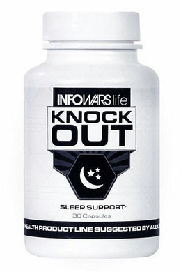 Infowars Life Knock Out Natural Sleep Support - 30 Day Supply