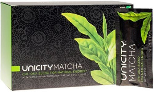Unicity Matcha Chi-Oka Blend For Natural Energy - 30-Count