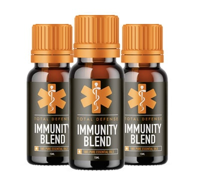 Total Defense Immunity Blend - Large Bottle 15 mL