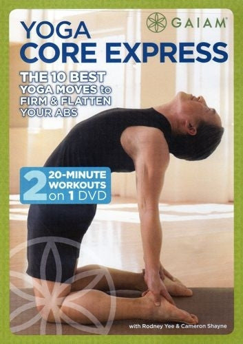 Yoga Core Express DVD Cameron Shayne And Rodney Yee