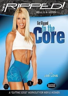 Jari Love Get Ripped to the Core DVD
