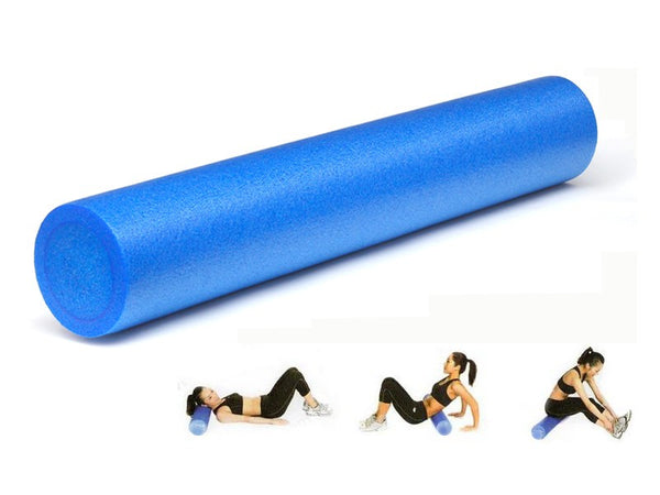 Smooth Foam Roller 90CM x 15CM - BLUE