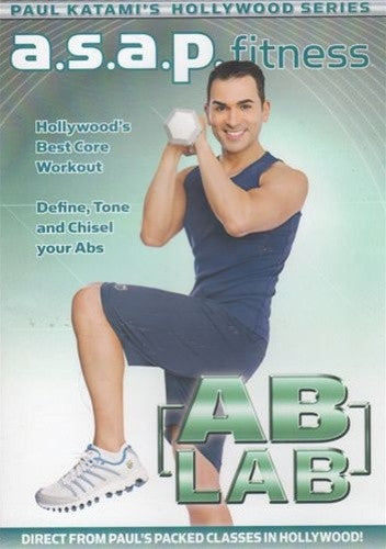 ASAP Ab Lab - Paul Katami A.S.A.P. DVD
