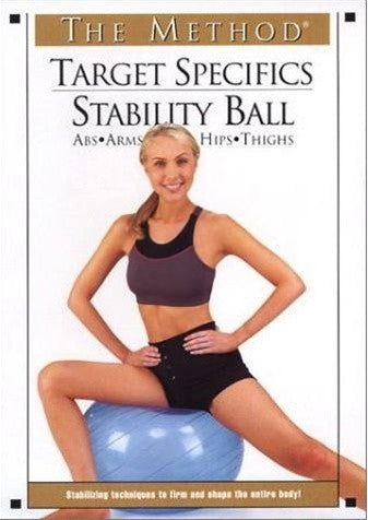 The Method Target Specifics Stability Ball DVD