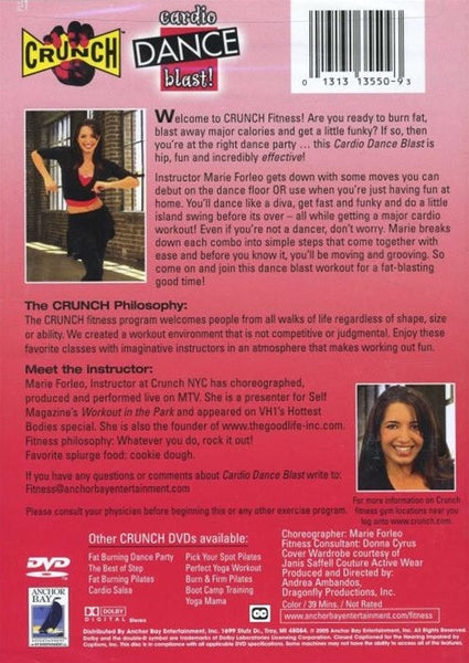 Crunch Cardio Dance Blast DVD