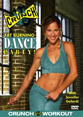 Crunch Fat Burning Dance Party DVD