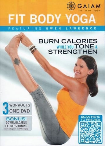 Yoga DVD | Gaiam Fit Body Yoga DVD - Gwen Lawrence