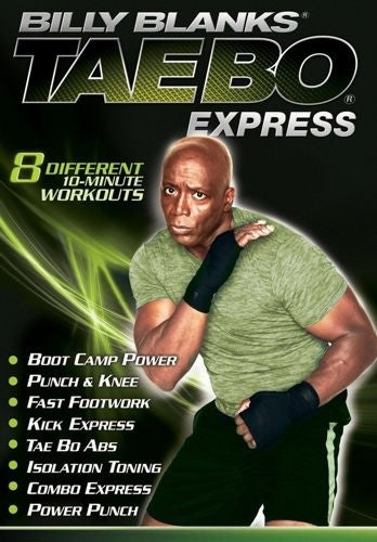 Billy Blanks Tae Bo Express DVD