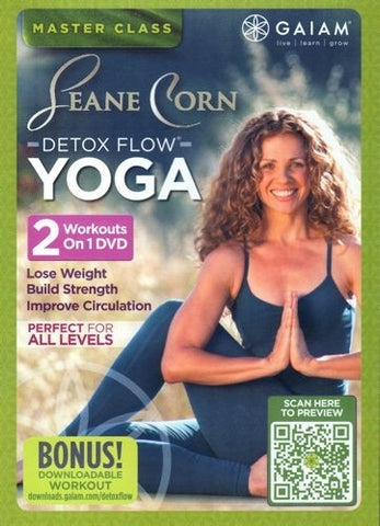 Gaiam Detox Flow Yoga DVD - Seane Corn