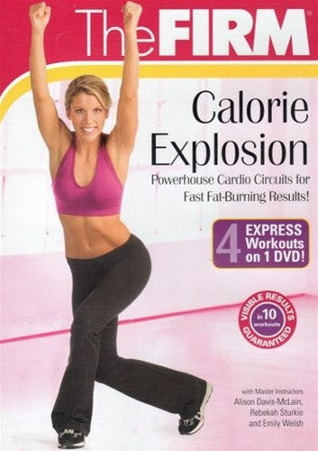 The Firm Calorie Explosion DVD