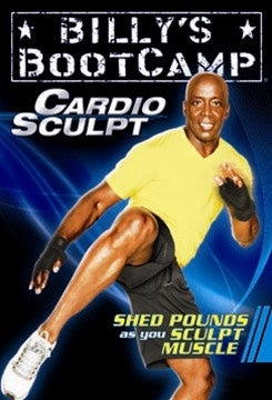 Billy's Bootcamp Cardio Sculpt Tae Bo DVD