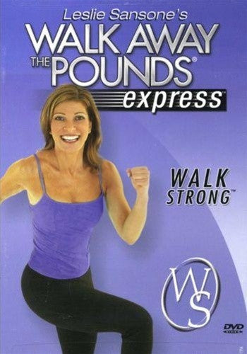 Leslie Sansone Walk Away The Pounds Express Walk Strong DVD