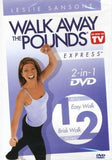 Leslie Sansone Walk Away The Pounds Express 1 And 2 Mile DVD