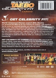 Tae Bo Billy Blanks Celebrity Fit Cardio DVD
