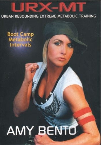 URX-MT Urban Rebounding Extreme Boot Camp Metabolic Intervals DVD - Amy Bento