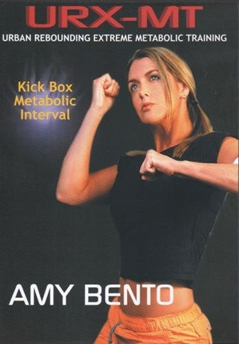 URX-MT Urban Rebounding Extreme Kick Box Metabolic Interval DVD - Amy Bento