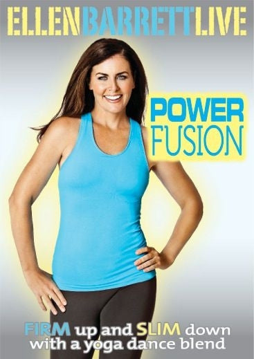 Ellen Barrett Live - Power Fusion DVD