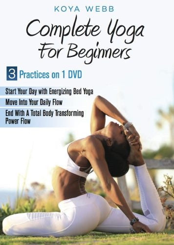 Yoga DVD | Complete Yoga for Beginners DVD - Koya Webb