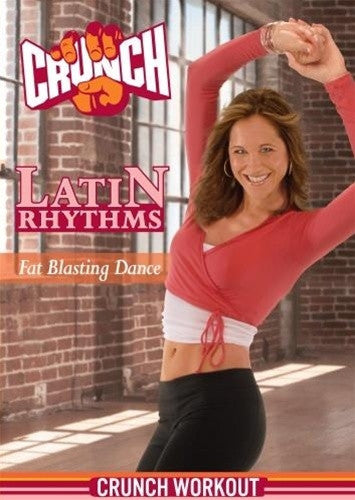 Crunch Latin Rhythms Fat Blasting Dance DVD