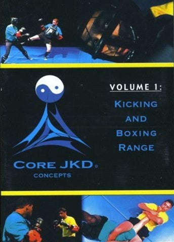 Core Jkd Jeet Kune Do: Kicking And Boxing DVD