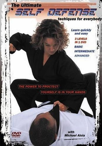 The Ultimate Self Defense Techniques For Everybody DVD