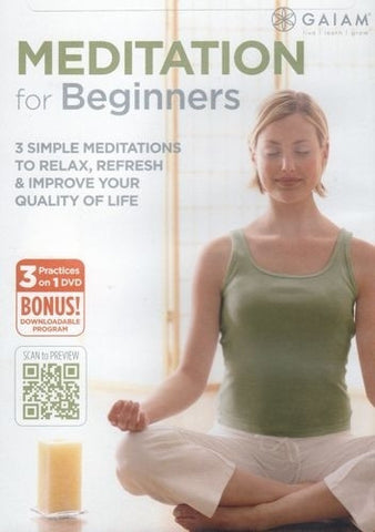 Meditation for Beginners DVD