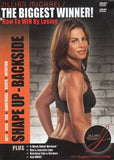 Jillian Michaels The Biggest Winner Shape Up Backside DVD