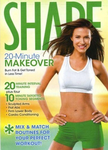 Shape 20 Minute Makeover DVD Elise Gulan