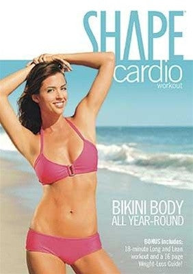 Shape Bikini Body All Year Round Cardio Workout DVD