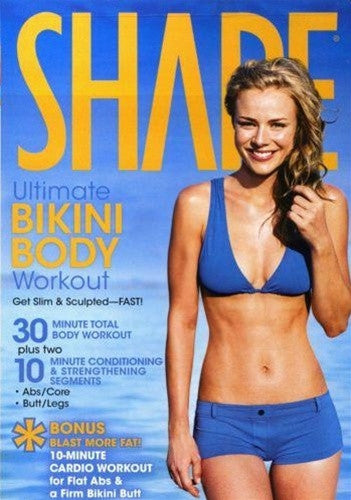 Shape Ultimate Bikini Body Workout DVD Dominique Hall