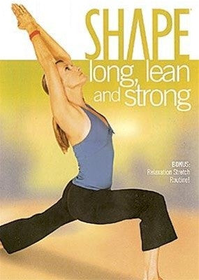 Shape Magazine Long Lean And Strong Yoga DVD