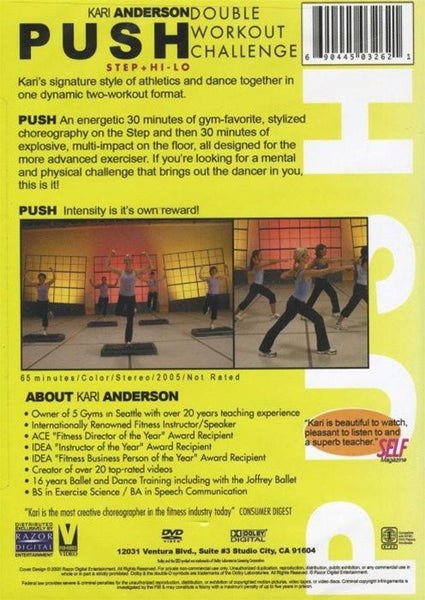 Kari Anderson Reach Toning Flexibility Workout DVD