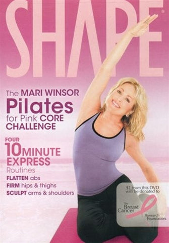 Mari Winsor Pilates For Pink Core Challenge DVD