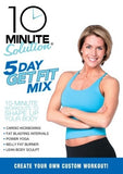 10 Minute Solution 5 Day Get Fit Mix DVD With Amy Bento