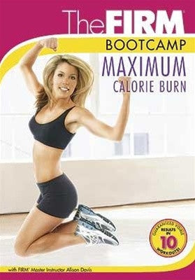 The Firm Bootcamp Maximum Calorie Burn Exercise DVD