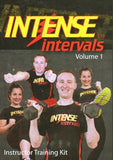Intense Intervals Volume 1 Instructor Training Kit   	  	Intense Intervals Volume 1 Instructor Training Kit - DVD, CD, & Booklet