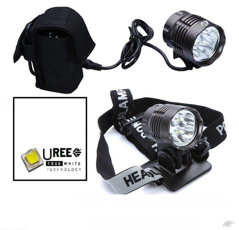 5000 Lumen UREE Bicycle Flashlight | Cycle Headlamp