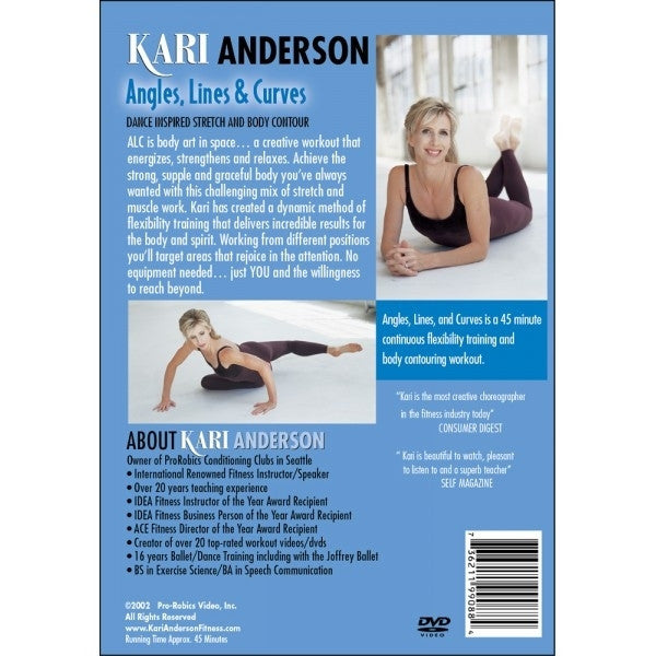 Kari Anderson Angles Lines And Curves 1 DVD